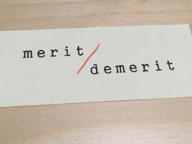 merit-and-demerit