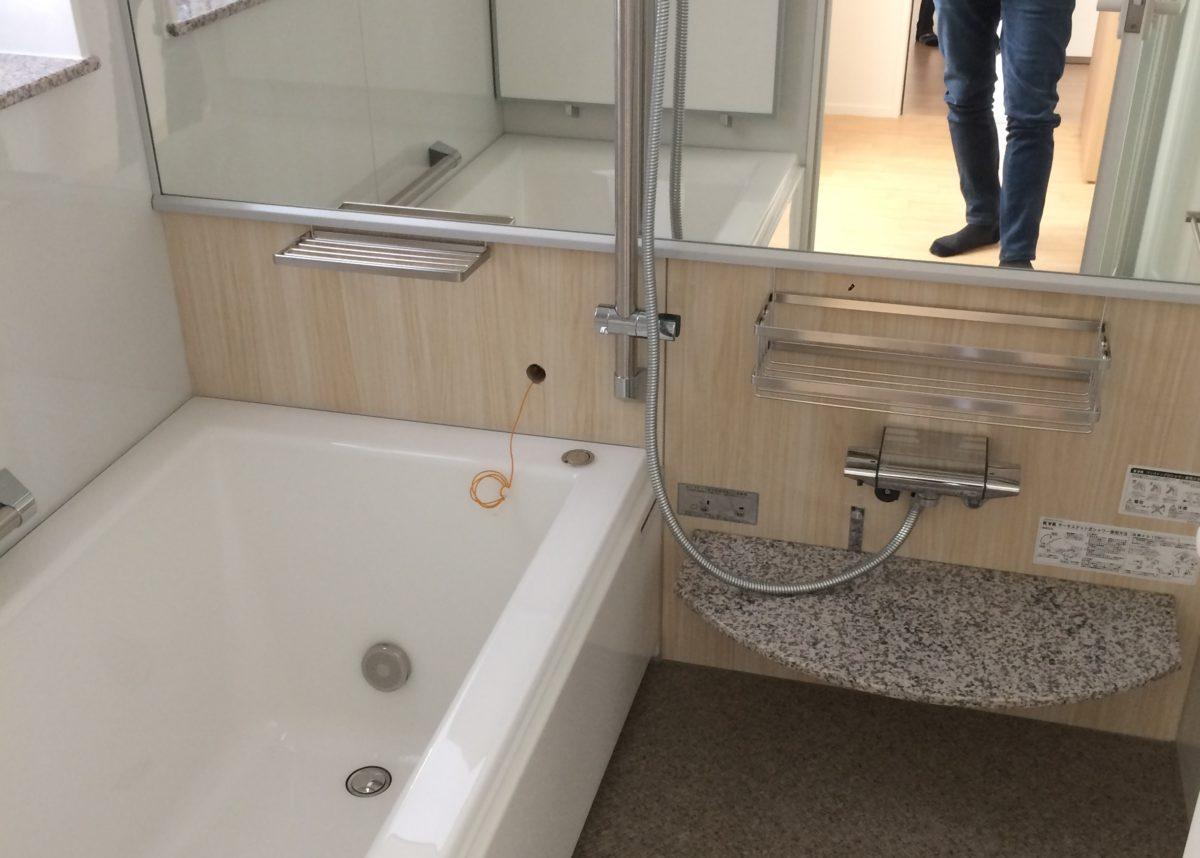 一条工務店アイスマートの風呂の写真