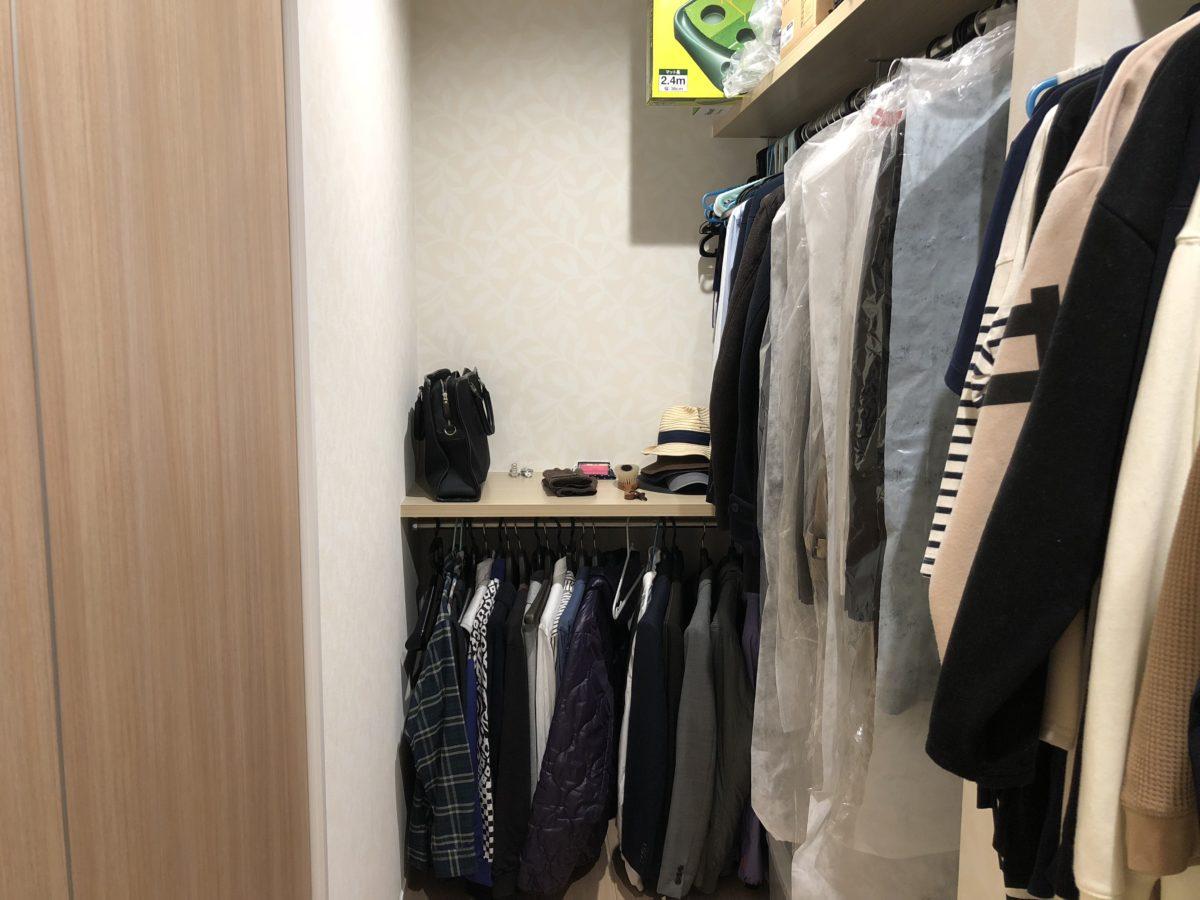 一条工務店アイスマートのクローゼットの写真